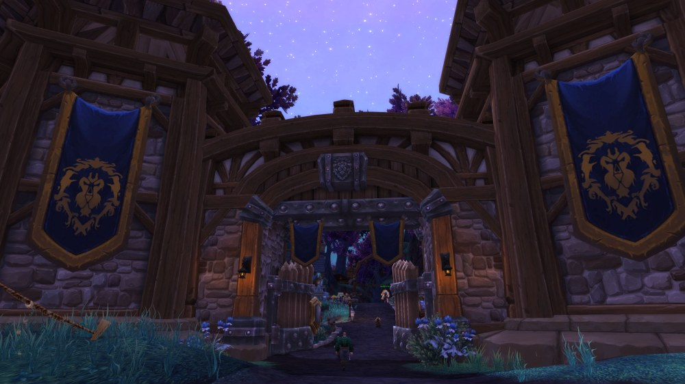 Garrison Level 2 Entrance