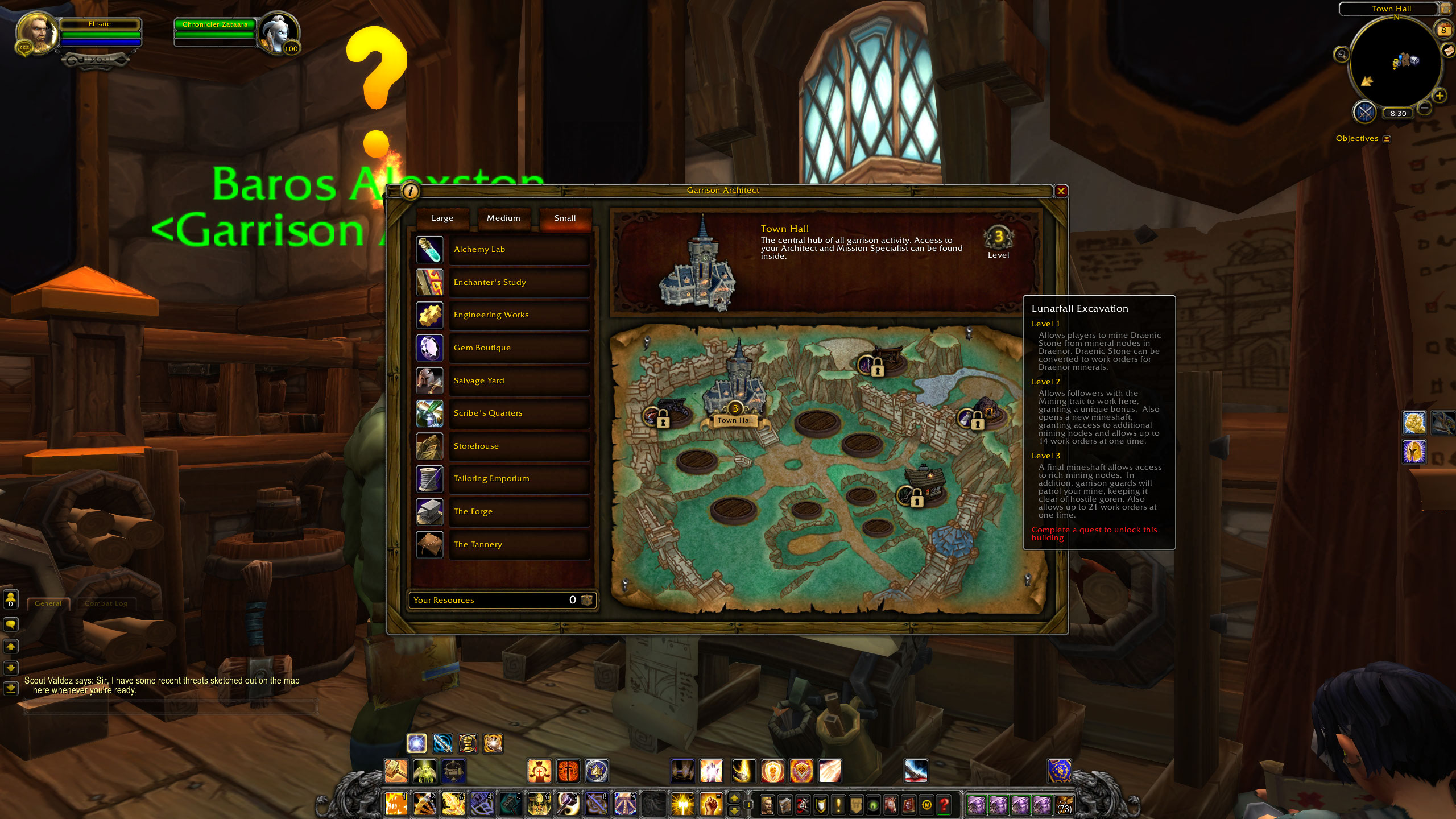 Visual tour of garrisons in world of warcraft warlords of draenor