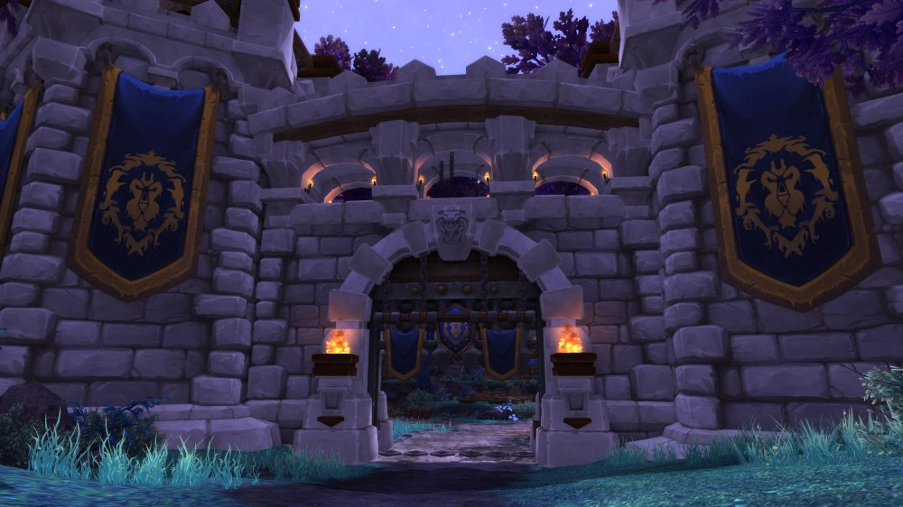 Garrison Level 3 Entrance