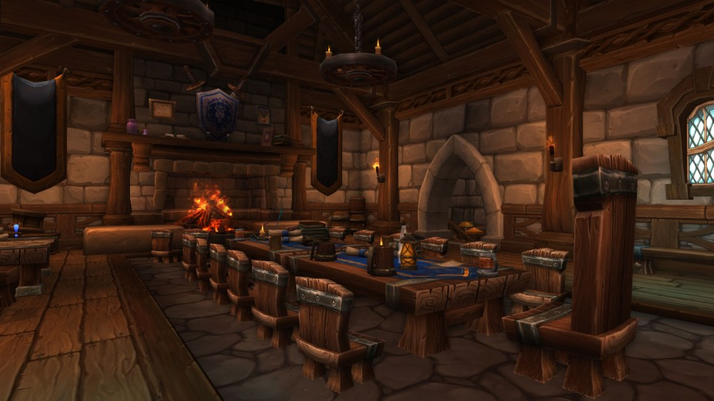Garrison Level 3 Town Hall Interior