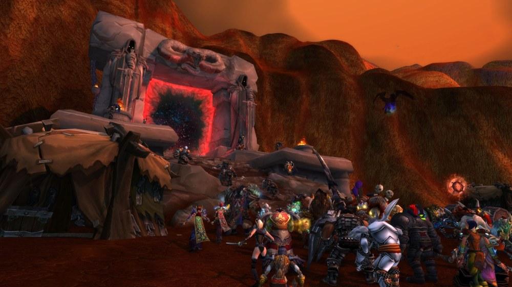 Draenor Assault Pre Expac Horde side