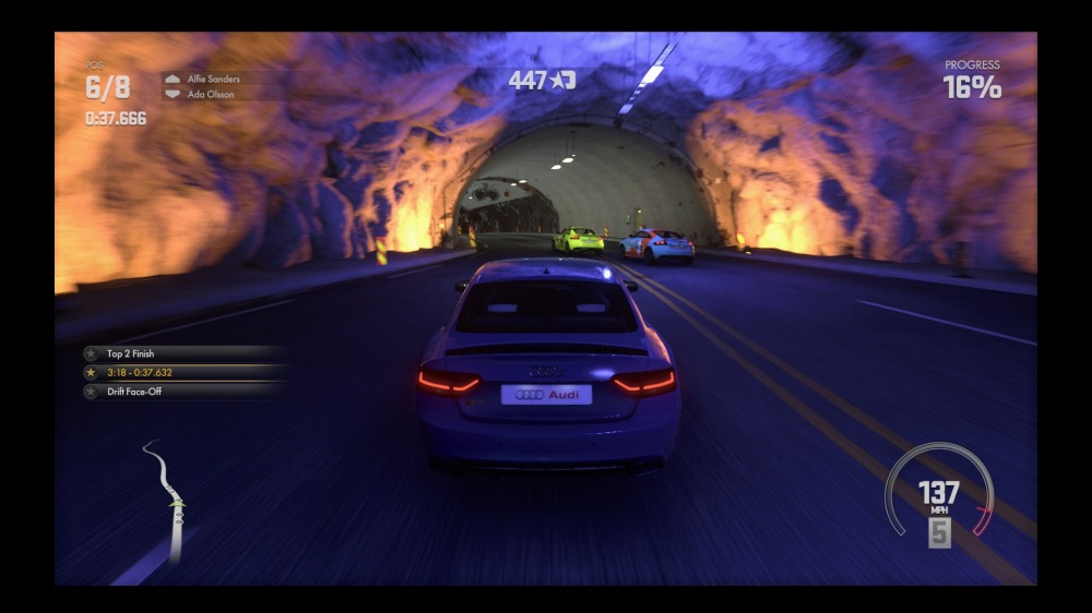 Driveclub's environments are varied and beautiful.