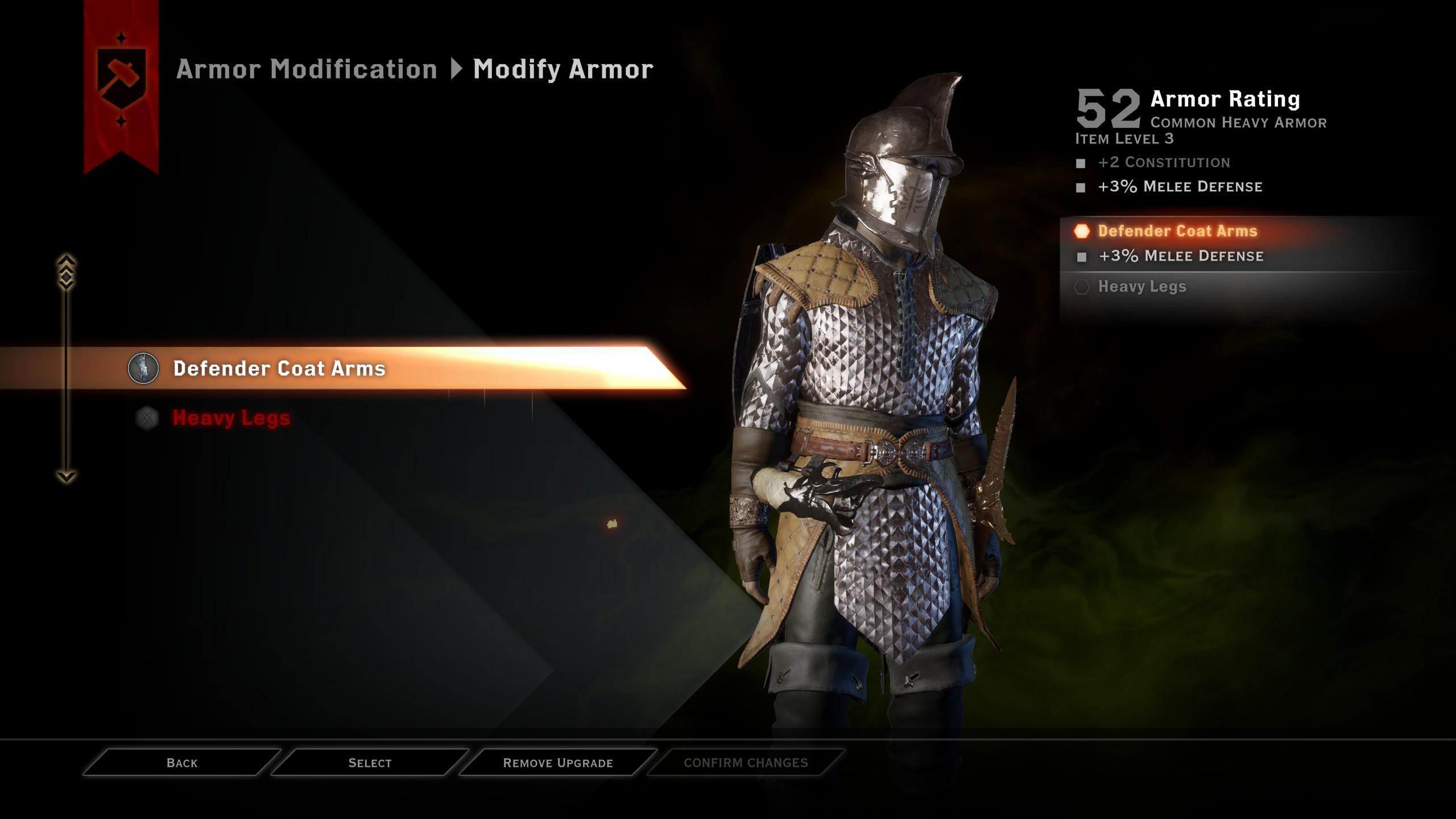 Dragon Age Origins Crafting Good Armor